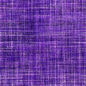Purple faux linen