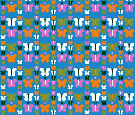 butterflies fabric by nandyc on Spoonflower - custom fabric