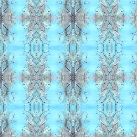 Winter Sky fabric by jelder on Spoonflower - custom fabric