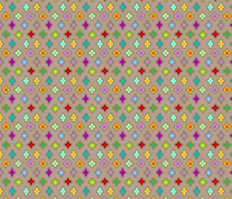 ©2011  bejewelled fabric by glimmericks on Spoonflower - custom fabric