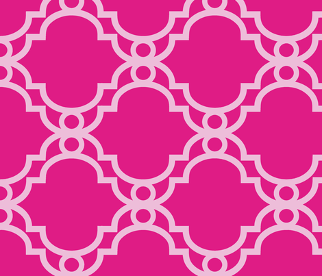 GATE - Peony fabric by lovedove on Spoonflower - custom fabric