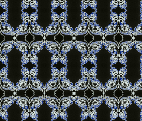 Friendly fiend fabric by edsel2084 on Spoonflower - custom fabric