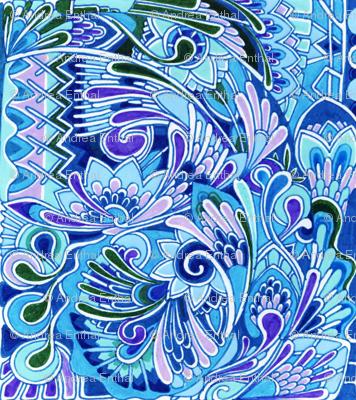 Deco the Halls (blue)