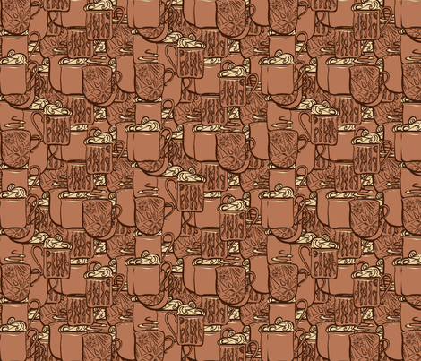 coffee2011 fabric by nikky on Spoonflower - custom fabric