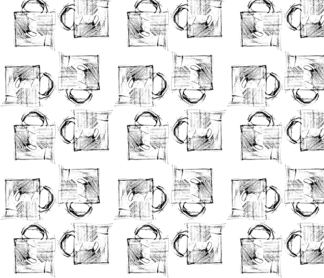 Coffee Mug fabric by melissaclemmer on Spoonflower - custom fabric
