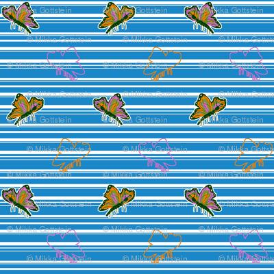 Bright Butterflies (please zoom in)
