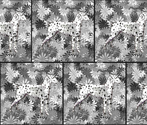 I'm Seeing Spots Dalmatian fabric by dogdaze_ on Spoonflower - custom fabric