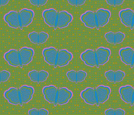 ButterflyPattern fabric by danielapuliti on Spoonflower - custom fabric