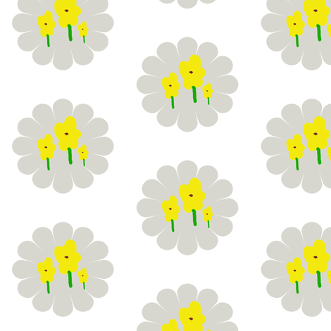 Little Miss Sunshine fabric by dimples_monkey on Spoonflower - custom fabric