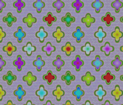 ©2011  bejewelled2 fabric by glimmericks on Spoonflower - custom fabric