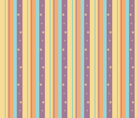 Purple Night Beach Stripe fabric by pantsmonkey on Spoonflower - custom fabric