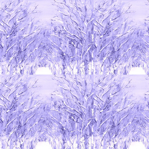 Winter Trees in Lavender