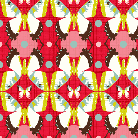 Butterfly Migration fabric by heatherdutton on Spoonflower - custom fabric