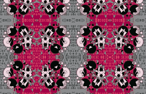 extra text fabric by heikou on Spoonflower - custom fabric
