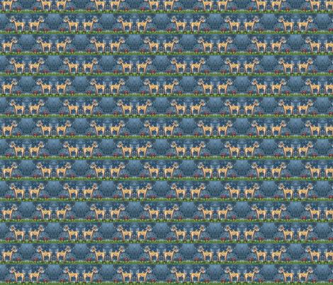 oh_deer2 fabric by vinkeli on Spoonflower - custom fabric