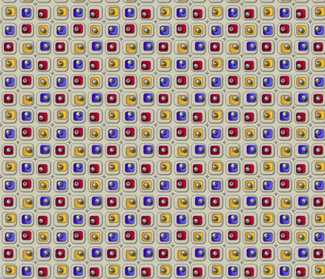©2011 blingblocks fabric by glimmericks on Spoonflower - custom fabric