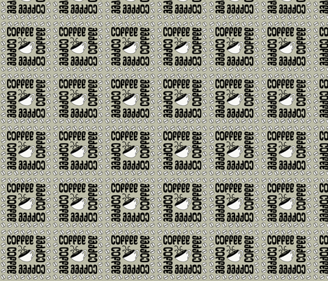 COFFEE22 fabric by glimmericks on Spoonflower - custom fabric
