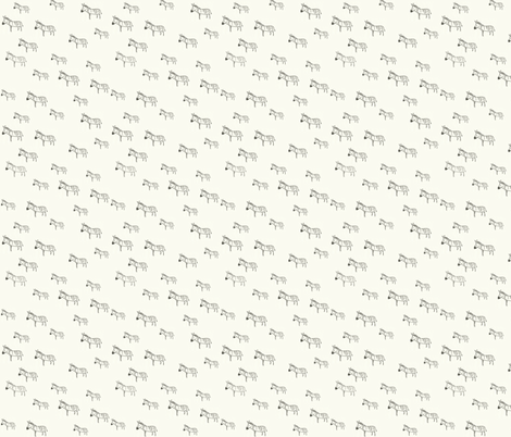 Zebra's All Around fabric by kathrynzaremba on Spoonflower - custom fabric