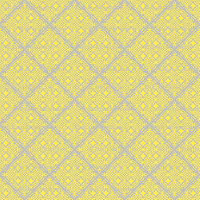 Lattice yellow and gray