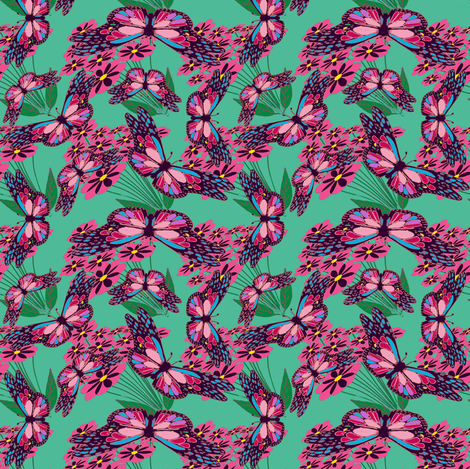 ALovelyBug5-3-ch-ch fabric by grannynan on Spoonflower - custom fabric