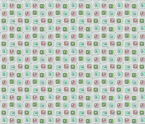 ©2011 blingblocks- pillowmints fabric by glimmericks on Spoonflower - custom fabric