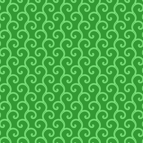 spiral vine fabric by sef on Spoonflower - custom fabric