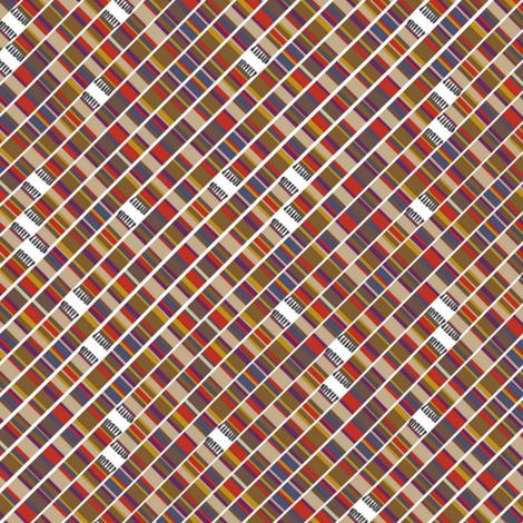 teeny scarf 16/17 (4th) diagonal fabric by scrummy on Spoonflower - custom fabric