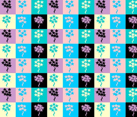 Star Bouquet fabric by sherryann on Spoonflower - custom fabric
