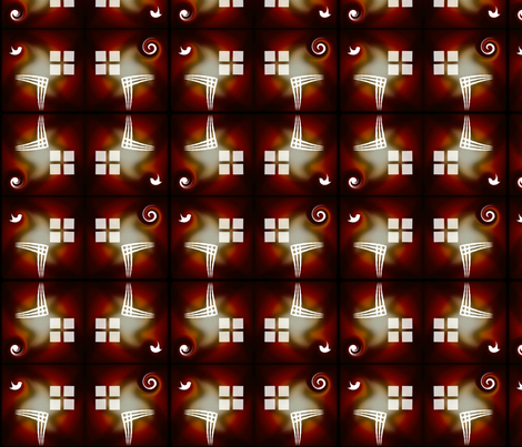 brick_coffee_window_brick fabric by pd_frasure on Spoonflower - custom fabric