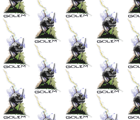 golom fabric by buffy_sunders on Spoonflower - custom fabric