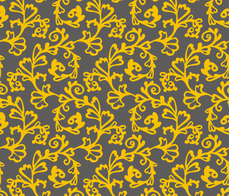 bgr_yellow fabric by renule on Spoonflower - custom fabric