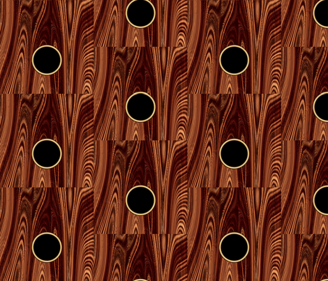 Guitar Wood fabric by animotaxis on Spoonflower - custom fabric