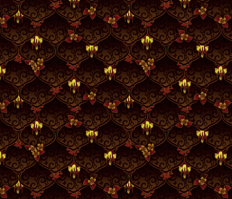 ©2011 Woodnymph's Wedding Fest-bark fabric by glimmericks on Spoonflower - custom fabric