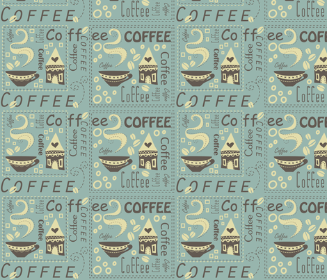 Coffee House fabric by catru on Spoonflower - custom fabric