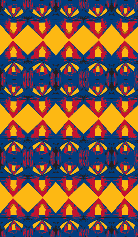 Superman's Closet fabric by susaninparis on Spoonflower - custom fabric