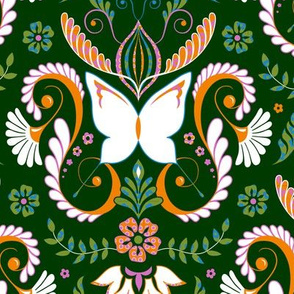 Butterfly Damask - Contest Colors 2