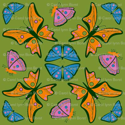 Groovy Nouveau Butterflies
