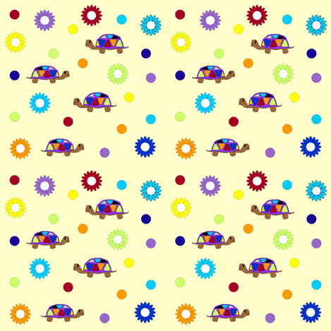 turtle fun fabric by sewbiznes on Spoonflower - custom fabric