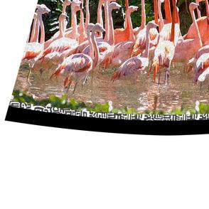 Flamingo Mambo Skirt