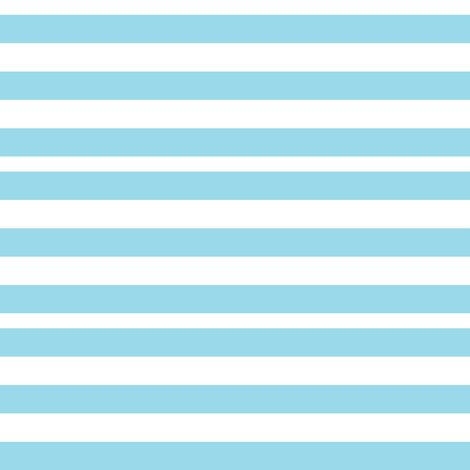 Blue and White Striped (Doll-sized)