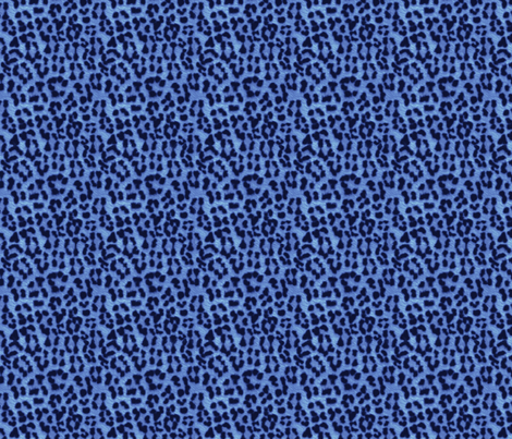©2011 leopard print blueberry fabric by glimmericks on Spoonflower - custom fabric
