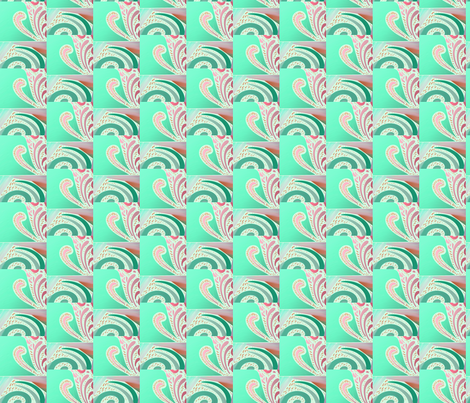 Seriously weird check fabric by su_g on Spoonflower - custom fabric