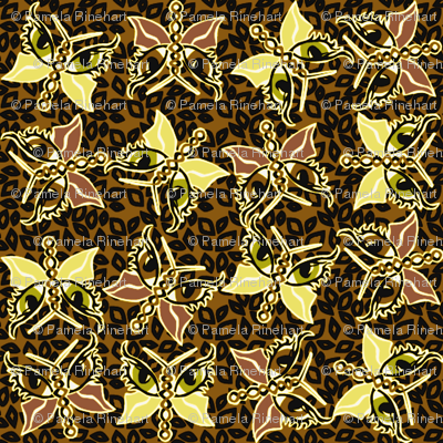 ©2011 2011 Leopard-optera brown