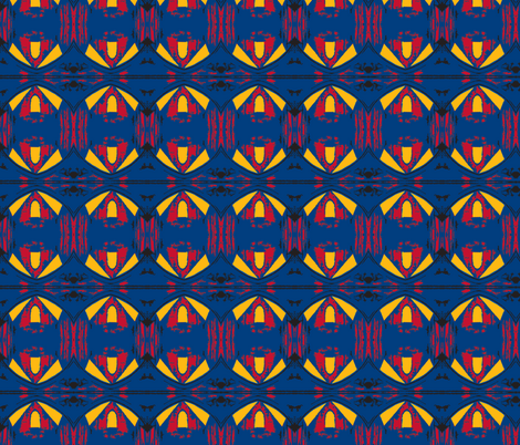 Superman Fly fabric by susaninparis on Spoonflower - custom fabric