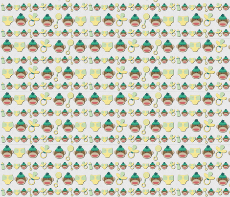 Oh Sweet Baby  fabric by icarpediem on Spoonflower - custom fabric