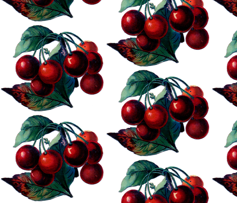 Cherry  fabric by icarpediem_ on Spoonflower - custom fabric
