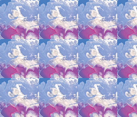 Fractal Cloud, L fabric by animotaxis on Spoonflower - custom fabric