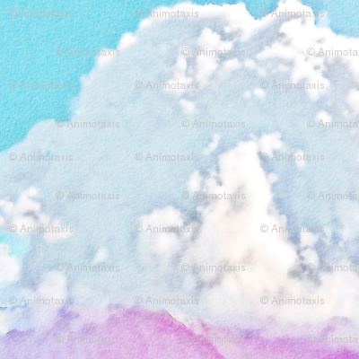Watercolor Cloud, L
