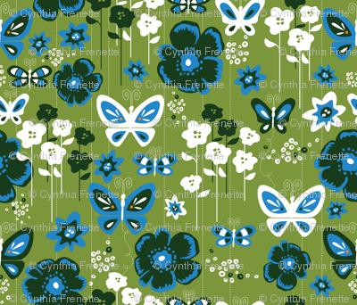 Modern Butterfly Garden