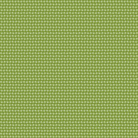 Snail on Green Moss fabric by rhondadesigns on Spoonflower - custom fabric